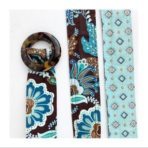 Vera Bradley Reversible Fabric Belt